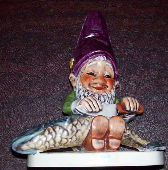 Goebel co-boy Fisherman Fips Figurine