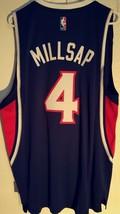 Adidas Swingman 2015-16 NBA Jersey Atlanta Hawks Paul Millsap Navy sz 2X - $19.79