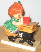 Goebel Charlot Byj Redhead Spellbound Girl at School - $165.00