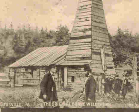 Drake Oil Well Titusville Pennsylvania Vintage 1906 Post Card