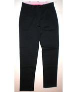 New Girls Gap Skinny Chino Dark Blue Navy Pants NWT Uniform 18 Adjustabl... - $39.00