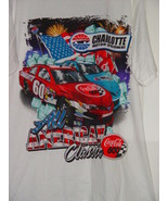 Jensen Charlotte Motor Speedway All American Classic CocaCola 600 T-Shir... - $27.00