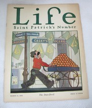 March 12 1925 Life Magazine Dare Devil Saint Patrick's Number  - $29.21