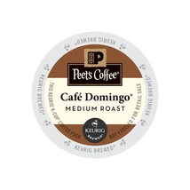Peet's Coffee Cafe Domingo Coffee, 22 Kcups, FREE SHIPPING  - $21.99