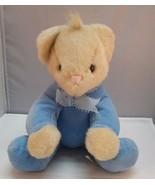 "North American Bear Co LULLABEAR Plush Lulla Sits 11"" 1988 Stuffed Anima... - $8.95"