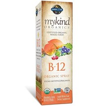 Garden of Life B12 Vitamin - mykind Organic Whole Food B-12 for Metabolism and E