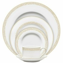 Wedgwood VERA WANG FILIGREE GOLD 5 PIECE PLACE SETTING NEW - $74.24