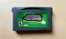Mega Man Battle Network 2 (Game Boy Advance, GBA) Authentic game cart --... - $32.66