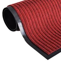 """vidaXL Red PVC Door Mat 2' 9"""" x 3' - $20.99"""