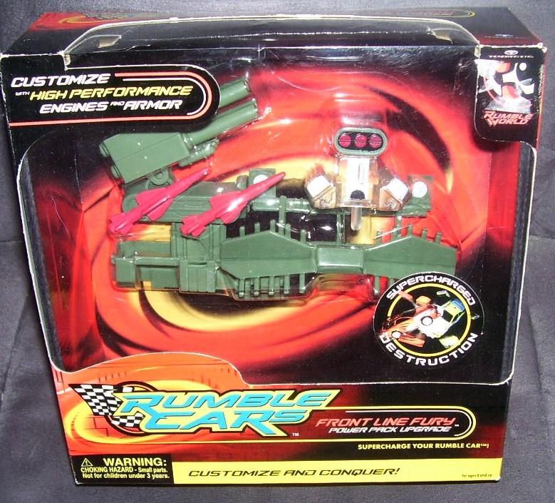 Rumble cars front line fury set