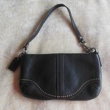Coach Black Leather Purse/ Wristlet  - $24.74