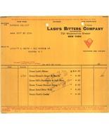 Lash's bitters invoice 1914 patent medicine original advertising ephemer... - $12.00