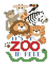 It's A Zoo In Here cross stitch chart Kooler Design Studio - $6.30