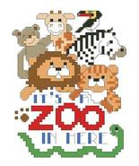 It's A Zoo In Here cross stitch chart Kooler Design Studio - $6.30