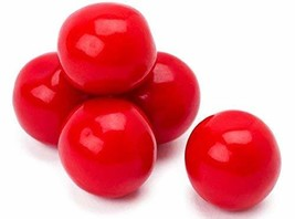 Red 1 Inch Gumballs, 2 LBS Red Candy Gum balls - $16.40