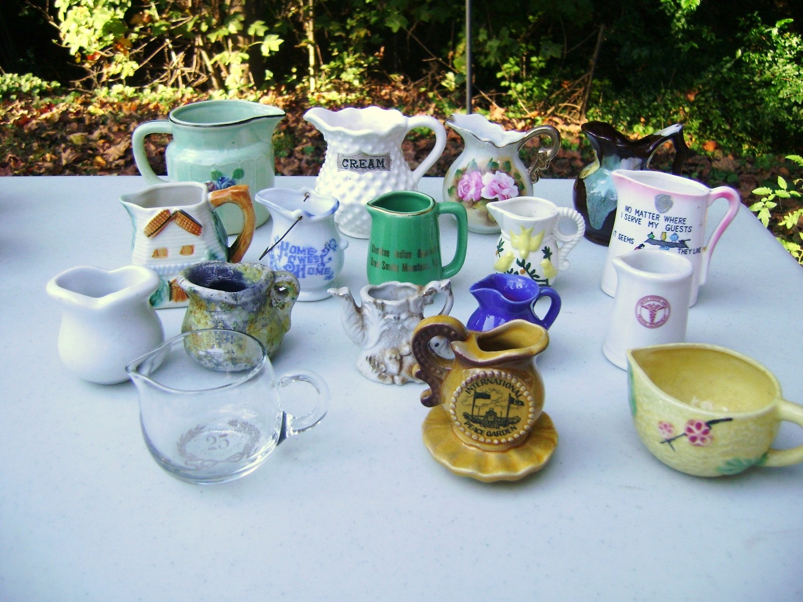 Vintage Pitcher & Creamer Lot 1  - $75.00