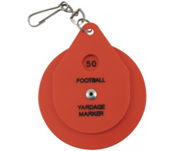 SMITTY | ACS-537 | Football Plastic Disc Chain Clip | Referee Officials Choice! - $14.01