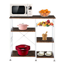 "Modern 35.5"" 3-Tier Microwave Stand storage kitchen baker's rack Shelf H... - $69.48"
