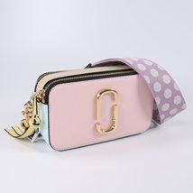 Marc Jacobs Snapshot Small Camera Bag Crossbody Bag Blush Multi Auth - $205.00