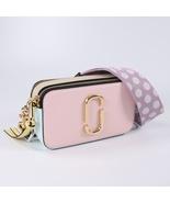 Marc Jacobs Snapshot Small Camera Bag Crossbody Bag Blush Multi Auth - $205.00