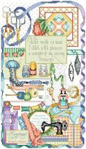 Stitcher's Sampler cross stitch chart Kooler Design Studio - $12.60