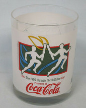 Coke Olympics Atlanta 1996 Torch Relay Glass Calexico - $19.69