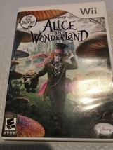 Wii Game Disney Alice In Wonderland  - $3.99