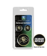 Colorado Buffaloes Flip Coin and 2 Golf Ball Marker Pack - $14.25