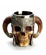 LOULONG® Creative 3D Skull Mug Viking Devil Artwork Horrifying Game Of T... - $47.68