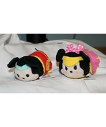Nuevo Disney Tsum Deporte Mickey Minnie Mouse 2 Pce Peluche Baloncesto Golf - $14.83