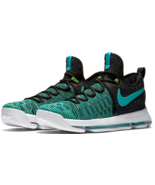 Nike KD 9 GS Size US 7 M (Y) EU 40 Youth Kid's Basketball Shoes Jade 855... - $83.25