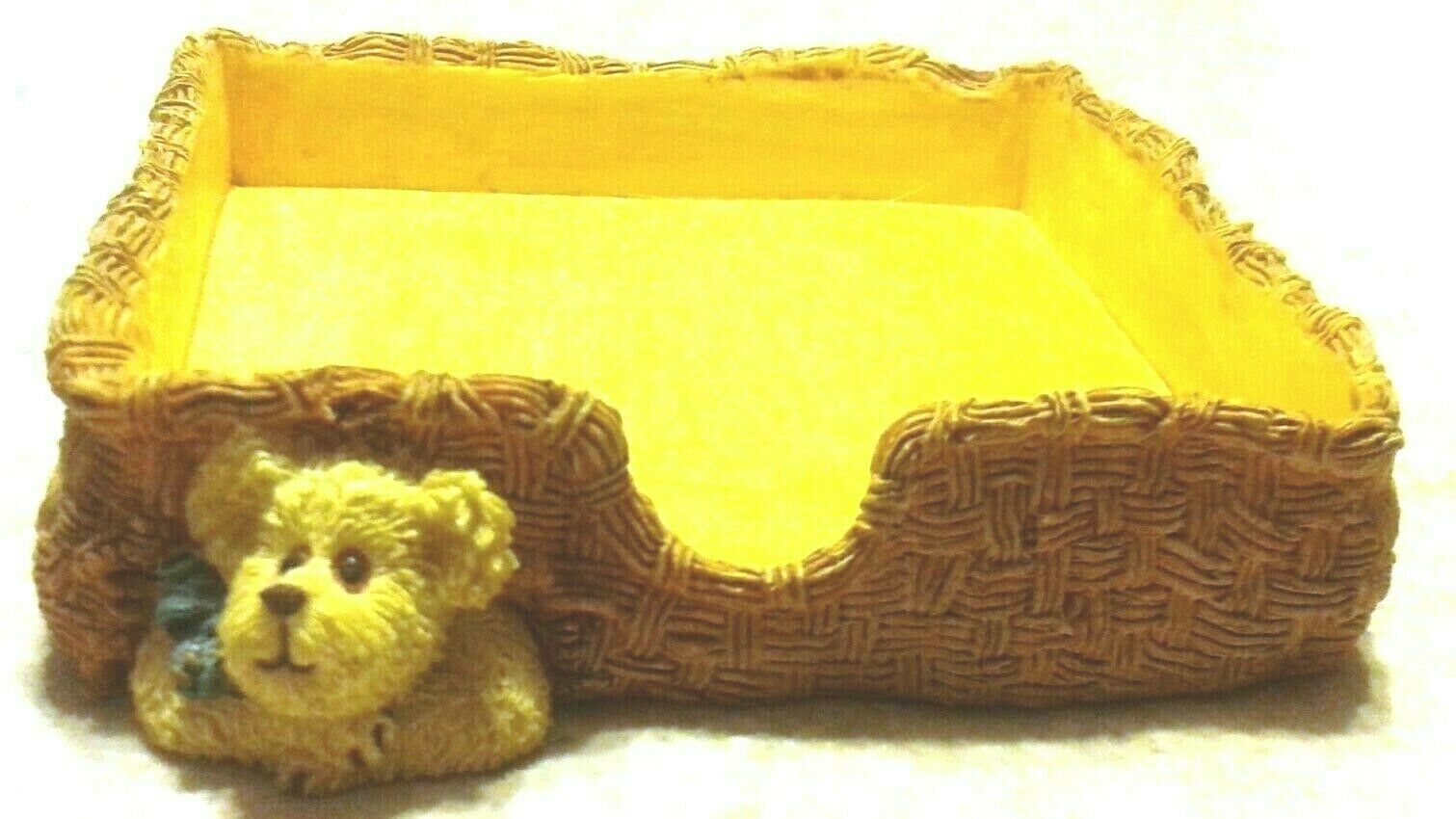 "Boyds Bears Accessory""Peeks..A Little Reminder"" Style #4109 -Note Pad Holder-New"