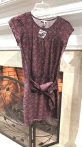 JOIE Silk Tie Waist Cap Sleeve Dress Sz XS Compare at $218 - $89.00