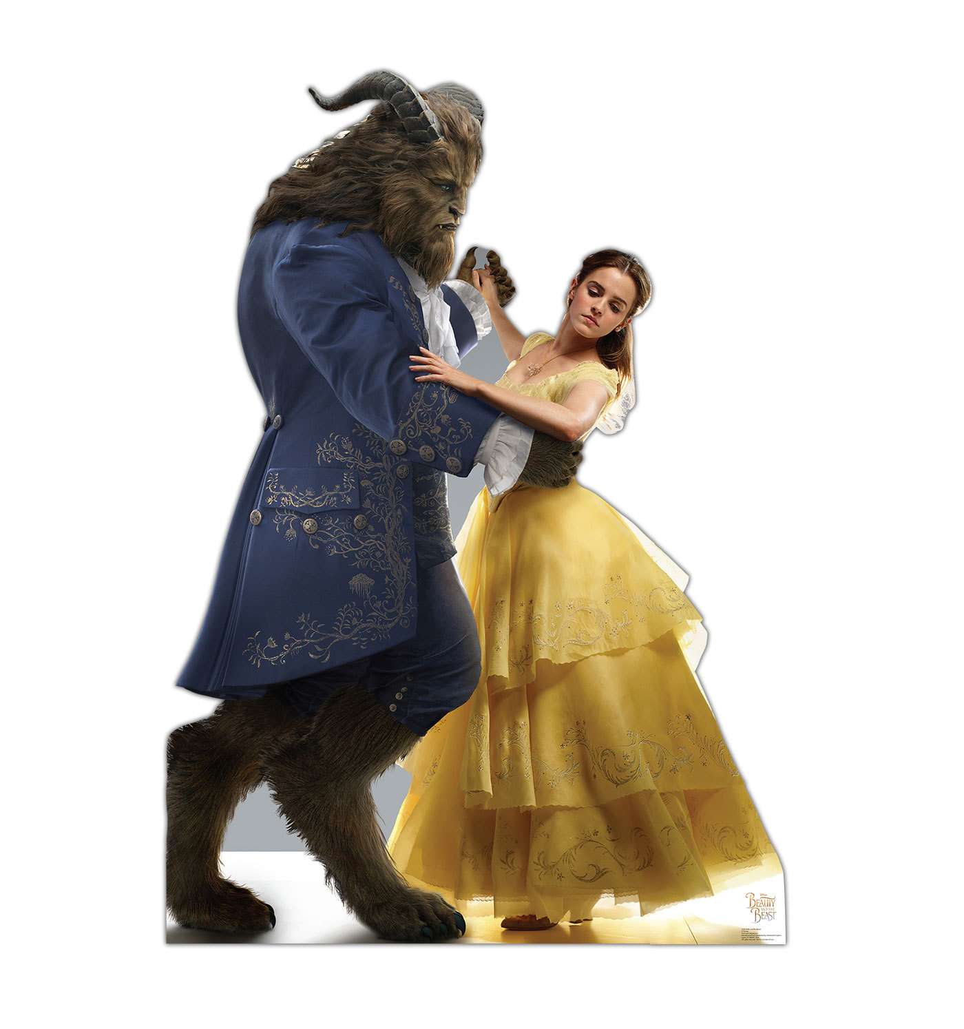 Primary image for BELLE & BEAST EMMA WATSON BEAUTY CARDBOARD STANDUP CUTOUT NEW LICENSED 2225