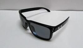 New Oakley 9102-02 HOLBROOK Polished Black/Grey Polarized Lens 55mm Sung... - $142.40