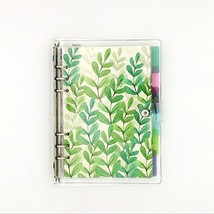 A5 6-Ring Loose Leaf Binder Journal w/ 80 Insert PagesDot Grid/Square Gr... - $22.72