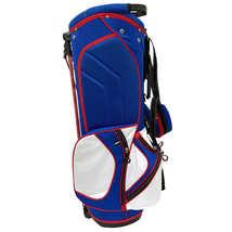 AVC Red White & Blue America USA 14 Ways Golf Cart-Friendly Stand Bag, Rain Hood image 4