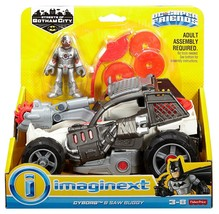 Imaginext DC Super Friends Streets of Gotham City - Cyborg & Saw Buggy -... - $26.24