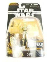 Star Wars Episode III Greatest Battles C-3PO Figure # 3 of 14 Han Solo Hologram - $12.97