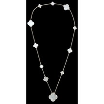 Sautoir Van Cleef & Arpels Magic Alhambra 11 motifs silver 925 - $227.69