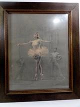 August von Münchhausen (Mittelhoch Century Ny ) Pastel auf Papier Ballet - $276.21