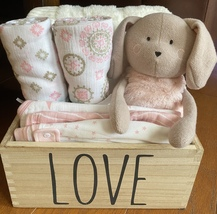 Ramona Rabbit Baby Gift Basket - $69.00