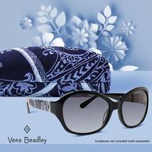 Vera Bradley Clamshell Sunglasses Eyeglass Case, Holland Garden image 4