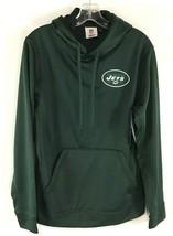 New York Jets Hoodie Sweatshirt NEW NFL Team Apparel NWT SZ S - $22.32