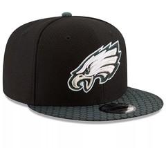 Philadelphia Eagles New-Era-NFL Official Sideline 9FIFTY Snapback Cap Ha... - $27.49
