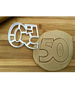 Number 50 Cookie Cutter/Multi-Size - $4.50+