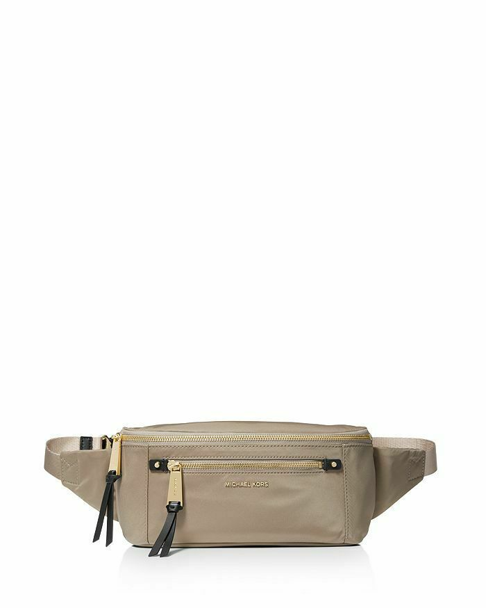4f88d3b70735 NWT Michael Kors Nylon Belt Bag / Truffle and 50 similar items. 57