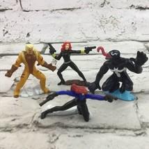 2005 Marvel X-Men Comic Book Zizzle Zizzlingers Figures Lot Of 4 Venom Mystique - $11.88