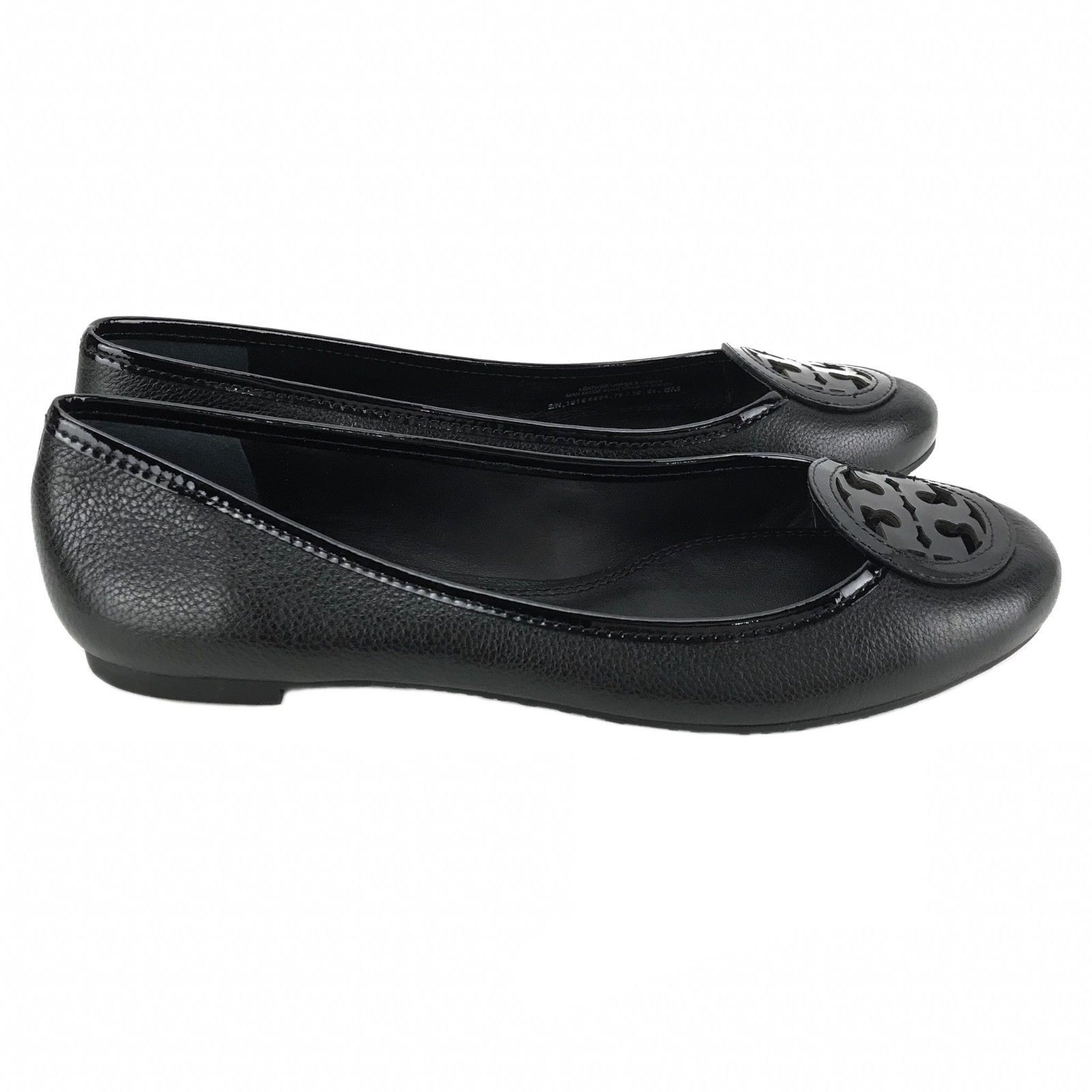 TORY BURCH Luisa Micro Tumbled Leather Ballet Flat