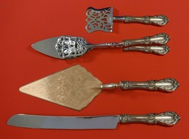 Burgundy by Reed and Barton Sterling Silver Dessert Serving Set 4pc Custom Made - $299.00
